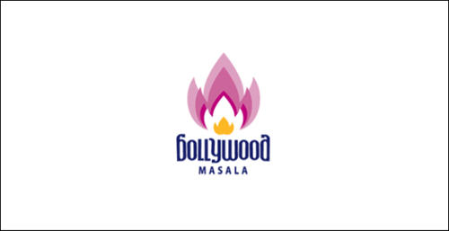 Bollywood masala logo