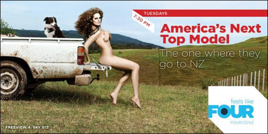 Americas Next Top Model  the one where they go to NZ