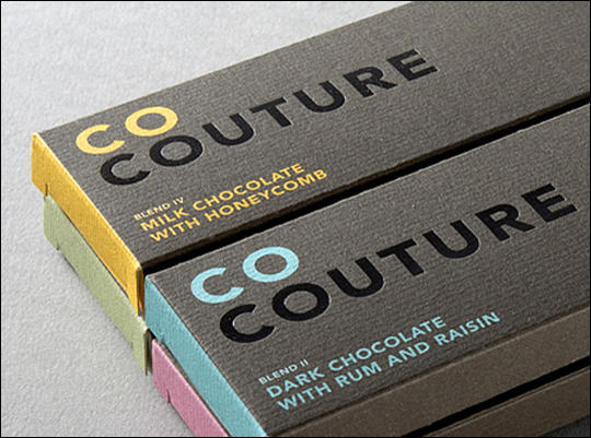 Couture Chocolate Packaging Design