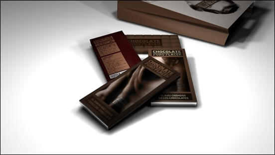 Chocolate, Puro Placer Packaging Design