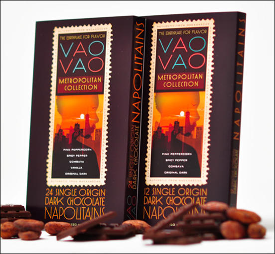 Vao Vao Chocolate Packaging Design