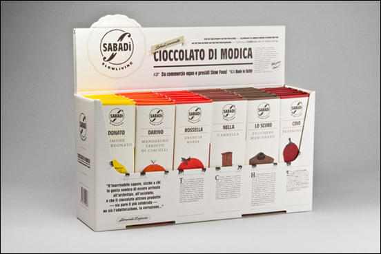 Sabadì Chocolate Packaging Design