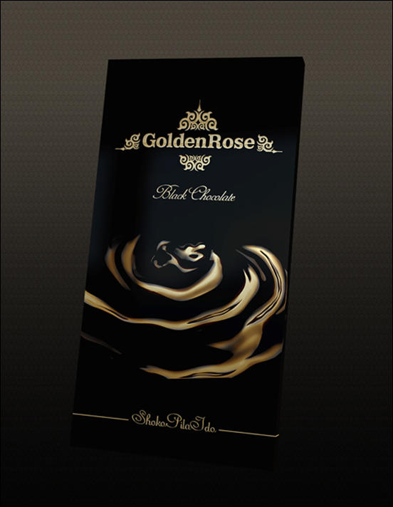Golden Rose Chocolate