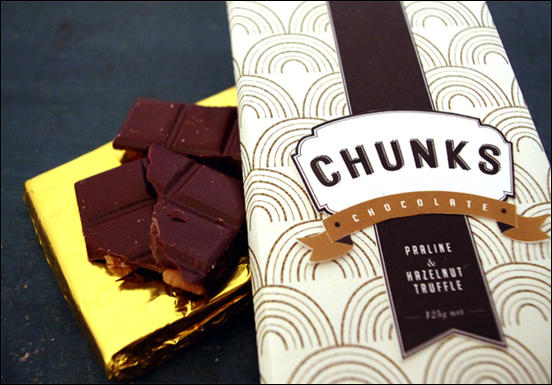 Chunks Chocolate Packaging