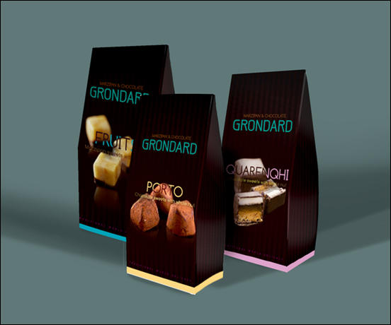 Grondard Chocolate Package Design