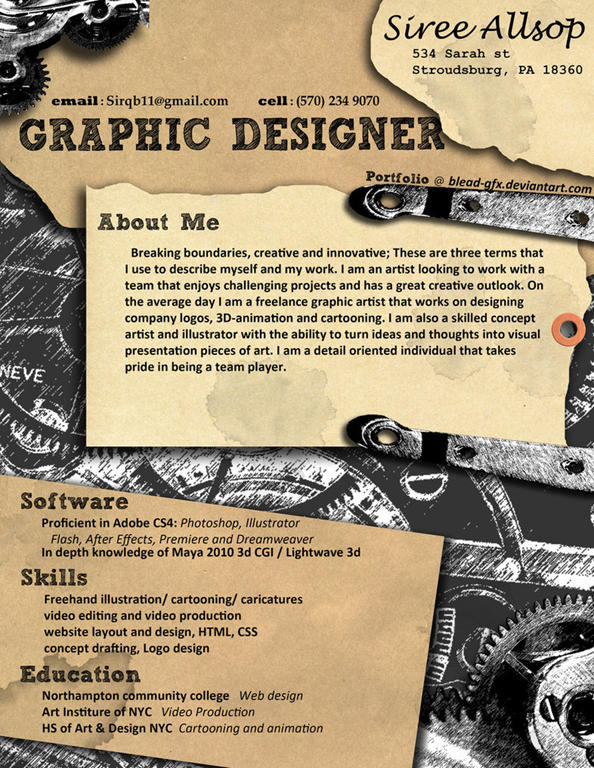 40 mind blowing and creative resume designs for inspiration