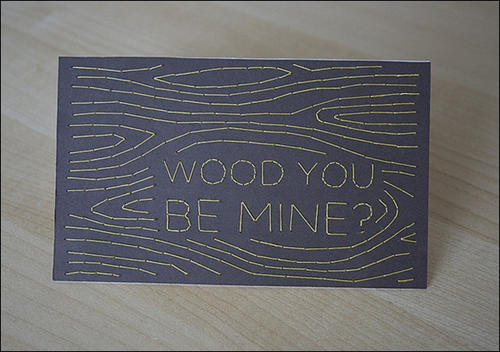 Wood You be mine