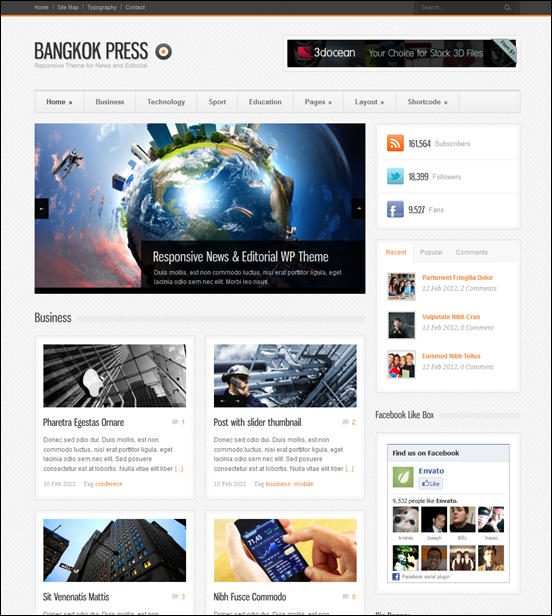 Bangkok Press - Responsive, News & Editorial Theme