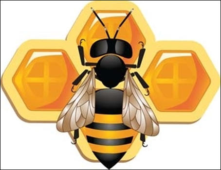Free Honeybee Vector