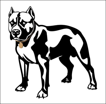 Pittbull Free Vector
