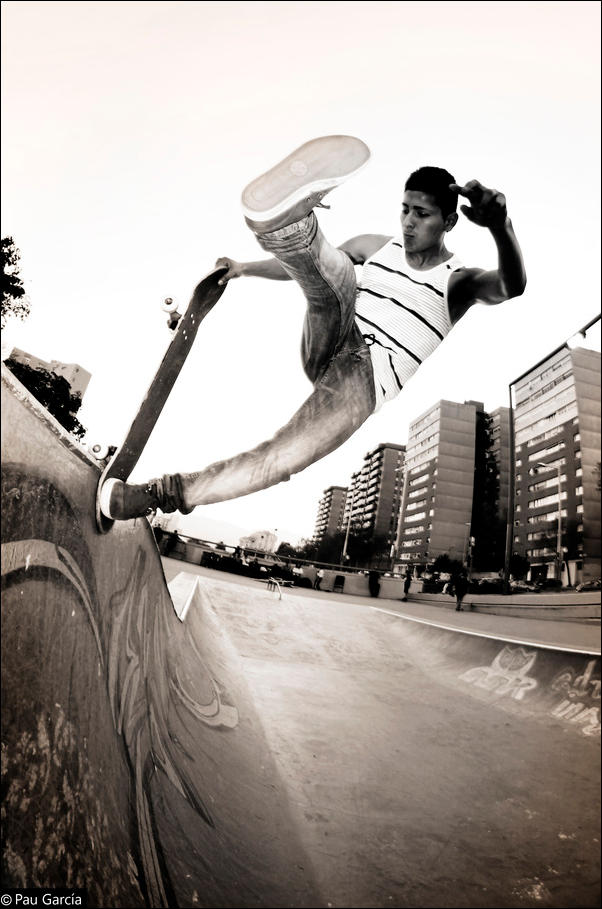 Skateboarding Photography by Pau Garcia