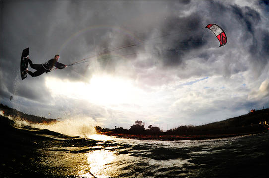 Sport Photography – Kite Surfing by Matthew Farrugia