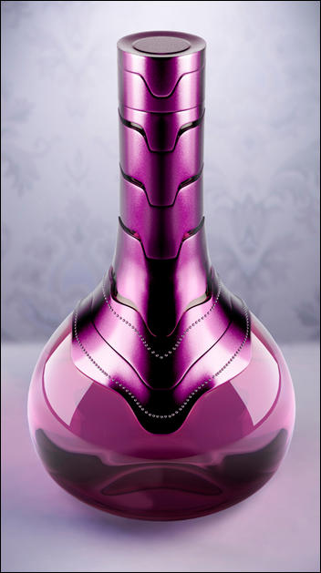 Perfume bottles by Camucada Coletivo