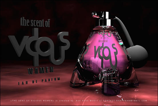 The Scent of Vicious Women by Ron Hahn