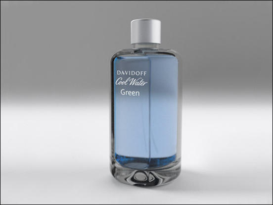 Davidoff Perfume Bottle by Cyrille Charier