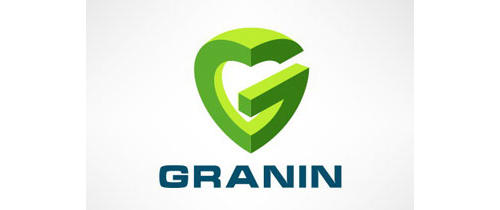 Granin by Yury Akulin heart shaped logos
