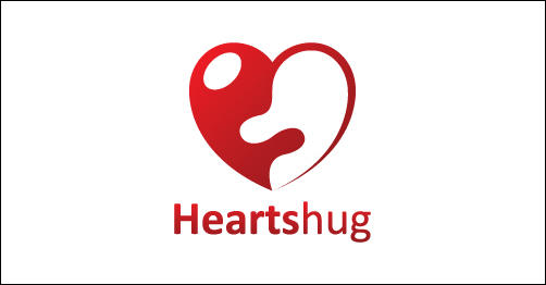 HeartHug by Chungdha heart shaped logos
