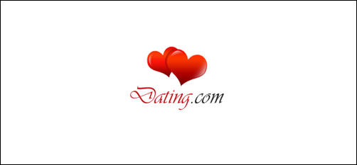 Dating by professional-art heart shaped logos