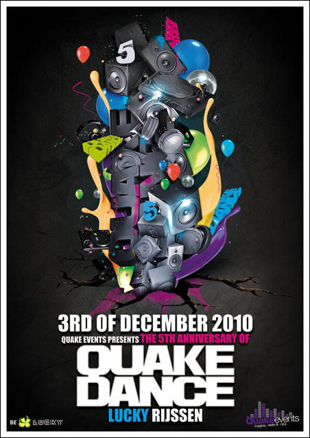 QuakeDance flyer