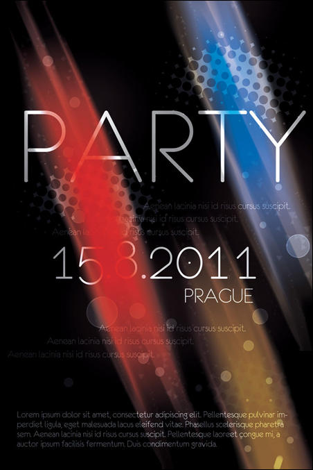 Prague Party Flyer (.psd)