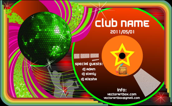 Club Poster Template
