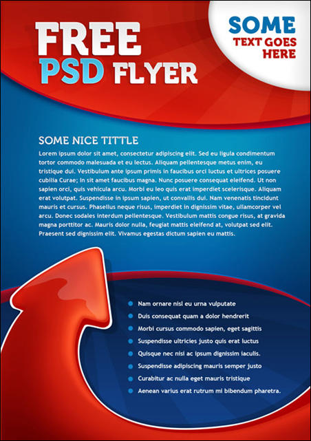 PSD Flyer Template