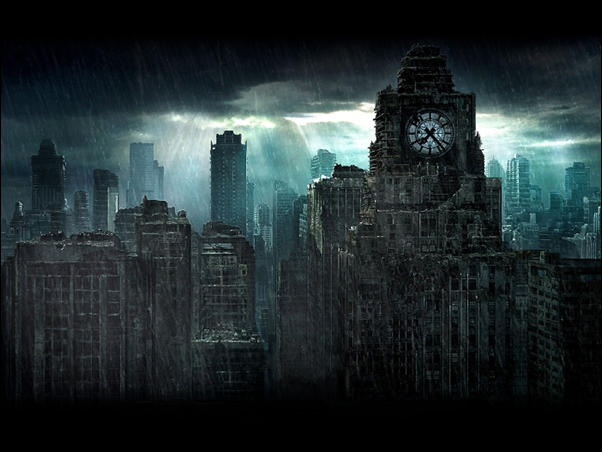 City Doomsday Photo Manipulation 