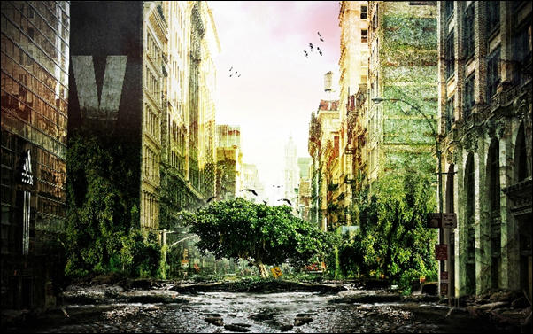Post Apocalyptic photo manipulation