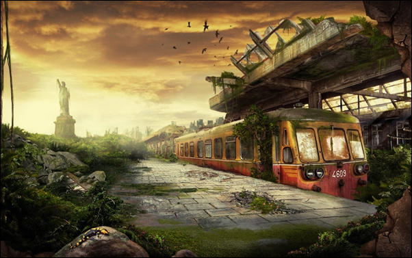 Apocalyptic photo manipulation