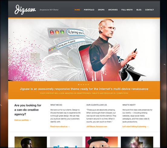 Jigsaw - Responsive WordPress Theme