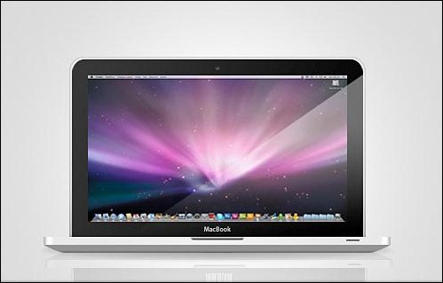 Apple-Macbook-Free-PSD