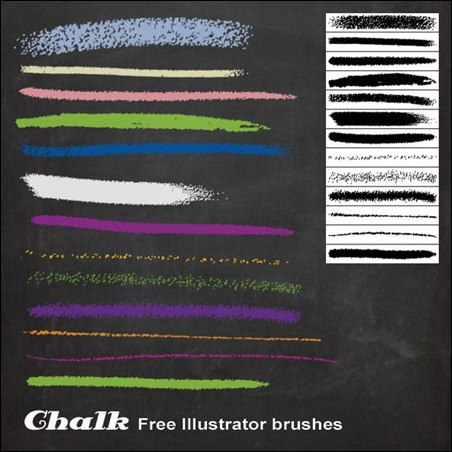 Chalk-Illustrator-Brushes