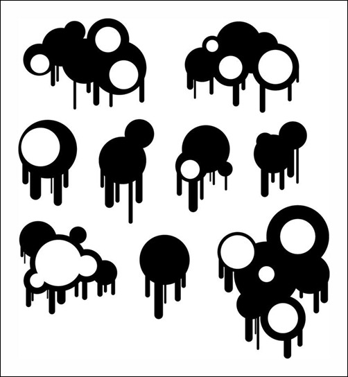 Circles-and-Drips-Brushes