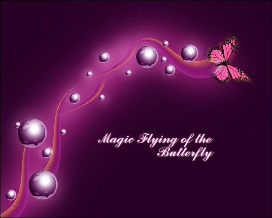 Create-a-magic-flying-of-the-butterfly-wallpaper