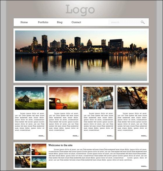 Design-a-minimalist-website-in-photoshop