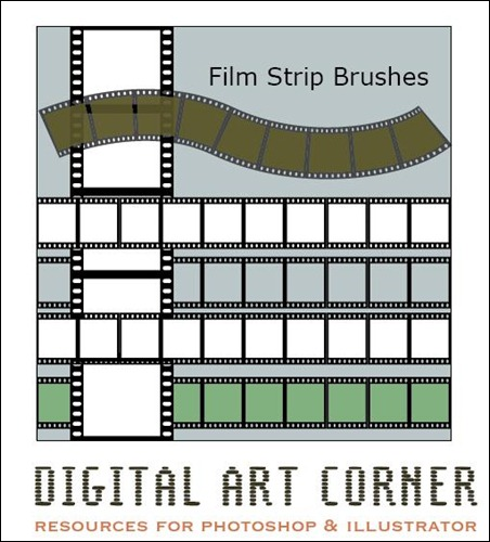 Filmstrio-brushes