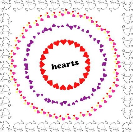 Hearts-Brushes