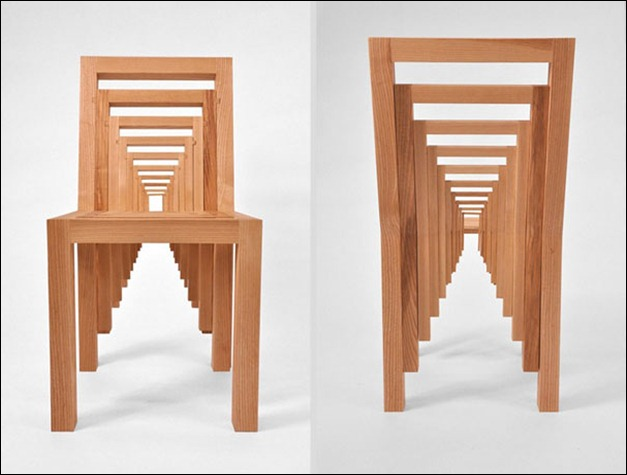 Puzzle-Like Inception Chair