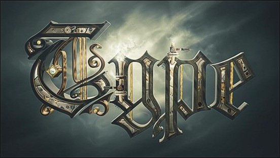 Steampunk-Typography