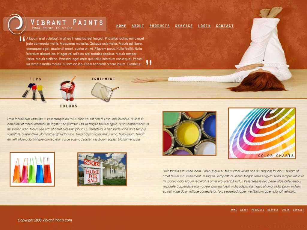 1024x768 Website Template Psd Website Template