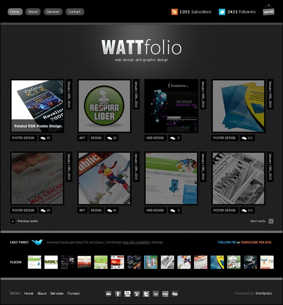 Wattfolio