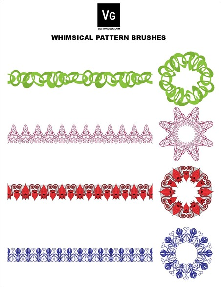 Whimsical-Pattern-Brushes