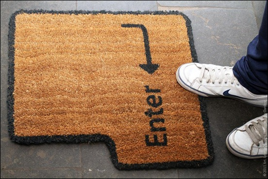 enter-key-doormat