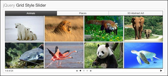 jQuery-Grid-Style-Slider
