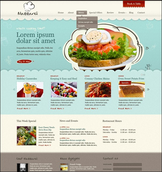 50 Beautiful Free and Premium PSD Website Templates and ...