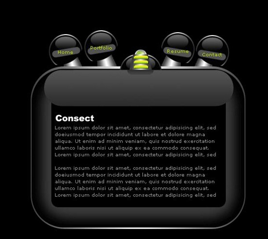 black-web-layout