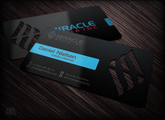 business-card-for-miracle-media-incorporated