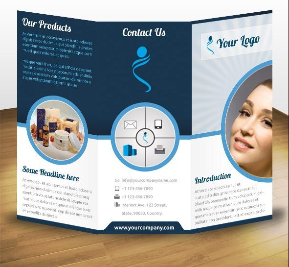 60+ Beautiful Tri-Fold Brochure Designs and Premium Brochure ...