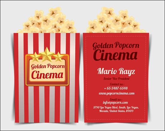 cinema-popcorn-business-card