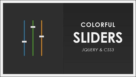colorful-sliders